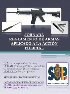 CARTEL JORNADA ARMAS