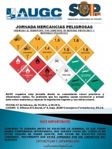 CARTEL JORNADA MERCANCIAS PELIGROSAS