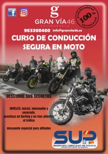 CARTEL CURSO MOTOS